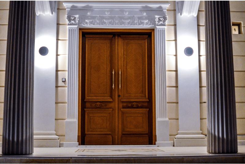 Classic exterior doors