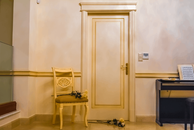 Classic door interior